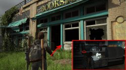 TLOU2 Capitol Hill Collectible Book Store