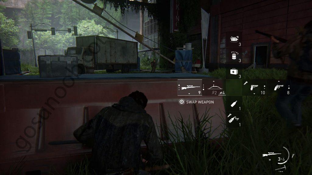 tlou2 swap weapons