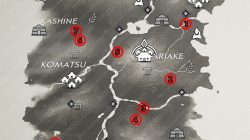 All Side Tale Locations Izuhara Map Ghost of Tsushima