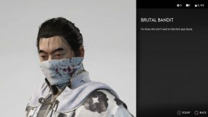brutal bandit mask ghost of tsushima