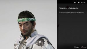 Chikurin Headband Ghost of Tsushima