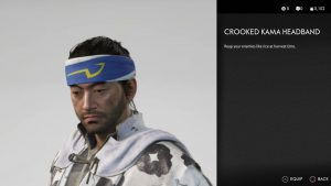 Crooked Kama Headband Ghost of Tsushima