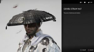 Genbu Straw Hat Ghost of Tsushima