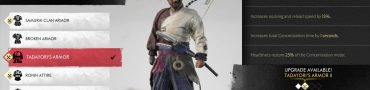 Ghost of Tsushima Tadayori's Armor Location - Mythic Tale