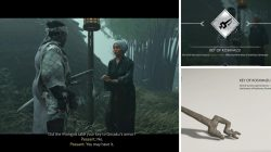 Gosaku Armor Key of Koshimizu Location Ghost of Tsushima