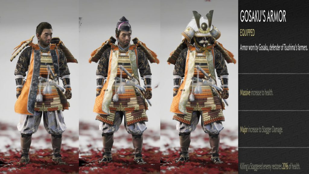 Gosakus Armor Ghost of Tsushima