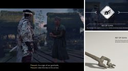 Gosakus Armor Key of Iijima Location Ghost of Tsushima