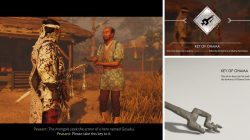 Gosakus Armor Key of Ohama Location Ghost of Tsushima
