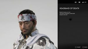Headband of Death Ghost of Tsushima