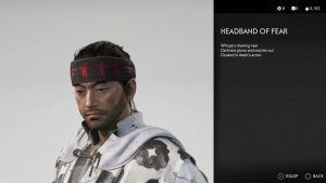 Headband of Fear Ghost of Tsushima