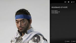 Headband of Hope Ghost of Tsushima