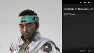 Headband of Perseverance Ghost of Tsushima
