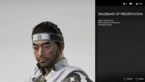 Headband of Preservation Ghost of Tsushima