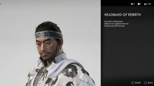 Headband of Rebirth Ghost of Tsushima