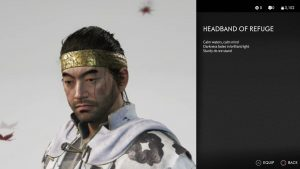 Headband of Refuge Ghost of Tsushima