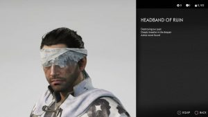 Headband of Ruin Helmet Ghost of Tsushima