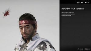 Headband of Serenity Ghost of Tsushima