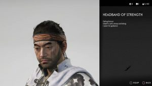 Headband of Strength Ghost of Tsushima