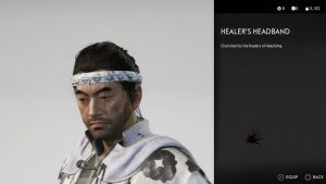 Healer's Headband Ghost of Tsushima
