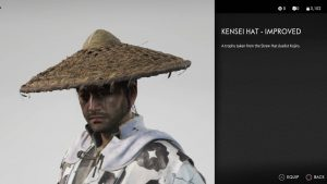 Kensei Hat Improved Ghost of Tsushima