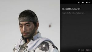 Kensei Headband Ghost of Tsushima