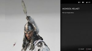 Mongol Helmet Ghost of Tsushima