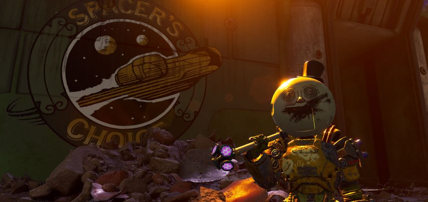 outer worlds peril on gorgon dlc trailer & details revealed
