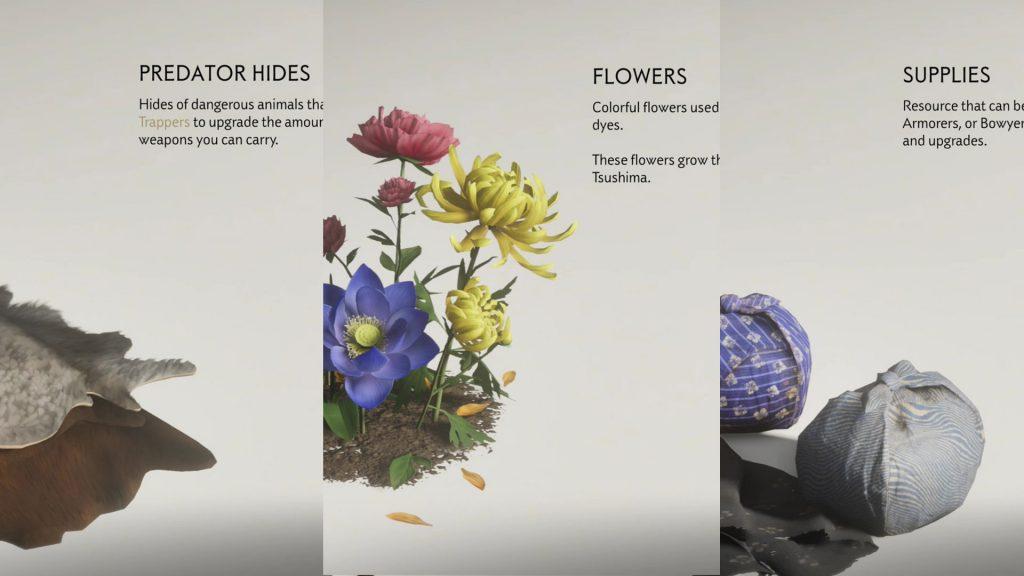 Predator Hides Flowers Supplies Locations Ghost of Tsushima
