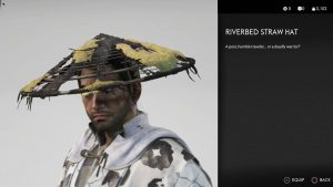 Riverbed Straw Hat Ghost of Tsushima