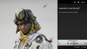 Samurai Clan Helmet Ghost of Tsushima