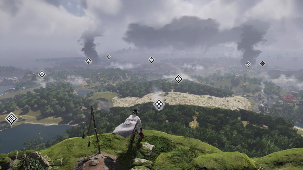 Tales of Tsushima List Map Locations Helping Sword Hand Trophy Ghost of Tsushima