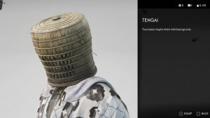 Tengai Helmet Ghost of Tsushima Basket Hat