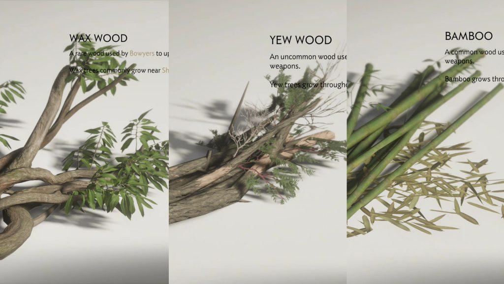 Wax Wood Yew Wood Bamboo Locations Ghost of Tsushima