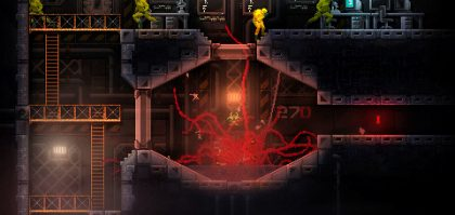 carrion gets animated launch trailer showing off the chaos