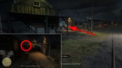 docks cross fox location red dead online where to find