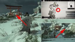 frost cliff shinto shrine location tsushima where to find