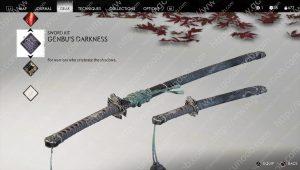 genbu's darkness sword kit location