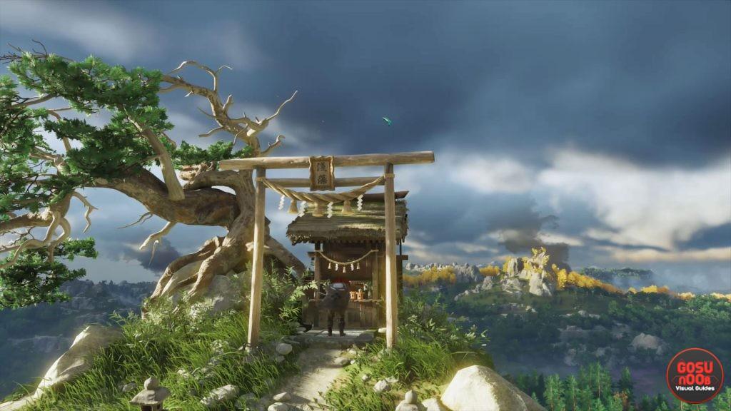 ghost of tsushima charms shinto shrine locations