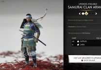 ghost of tsushima customization horse character sword bow