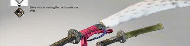 ghost of tsushima heavenly falcon sword kit location heavenly strike