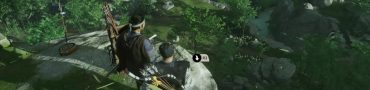 ghost of tsushima how to hide bow on jin's back