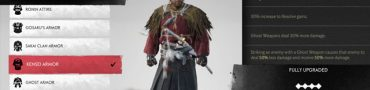 ghost of tsushima straw cape outfit from gameplay demo location