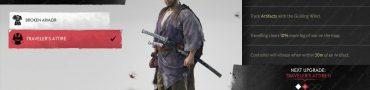 ghost of tsushima traveler's attire