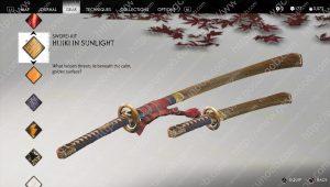 hijiki in sunlight sword kit