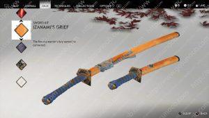 izanami's grief sword kit