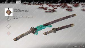 mamushi venom sword kit