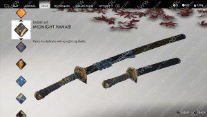 midnight hanabi sword kit