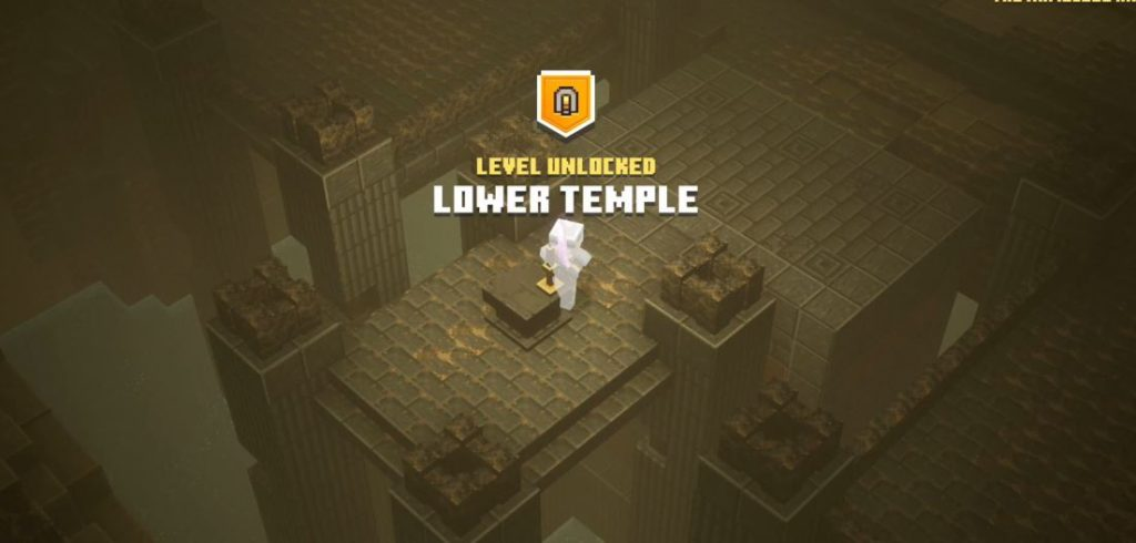 minecraft dungeons lower temple secret mission