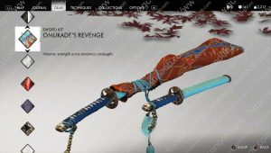 omukade's revenge sword kit