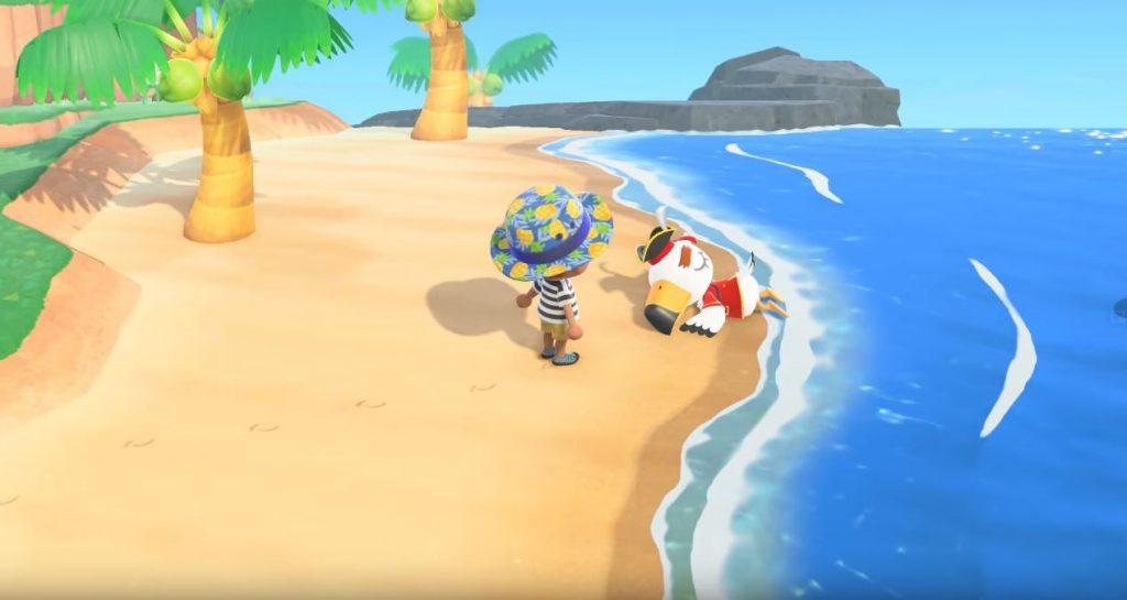 pirate gulliver animal crossing new horizons